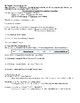 Expresate (Book 2) Ch. 5 Test Review Worksheet