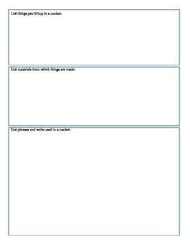 Expresate (Book 2) Ch. 8 Test Review Worksheet