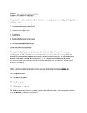 Exprésate Ch 7 Chapter Test