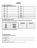Expresate (Book 1) Ch. 8 Test Review Worksheet