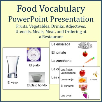 Food Vocabulary Powerpoint
