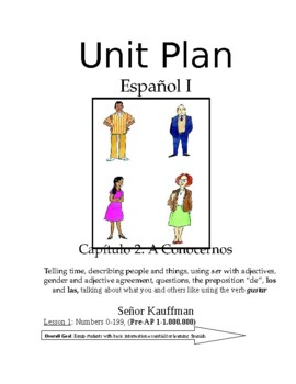 Exprésate I Spanish I lesson plans and materials - Chapter