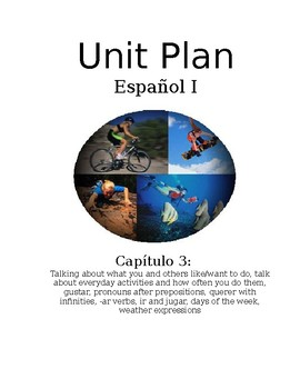 Exprésate I Spanish I lesson plans and materials - Chapter 3