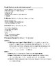 Expresate Spanish II lesson plans and materials - Chapter 3