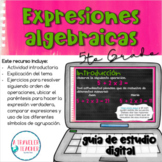 Expresiones Algebraicas Orden de Operaciones PEMDAS
