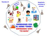 Expresiones con el verbo Tener / Expressions with the verb