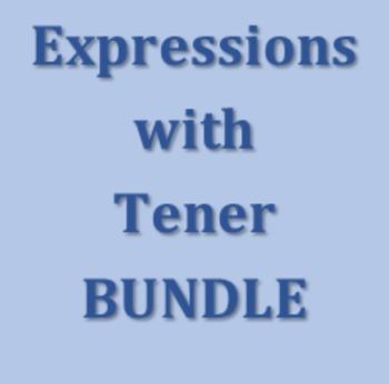 Expresiones con tener Spanish Bundle