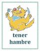 Expresiones con tener Spanish Verb Posters