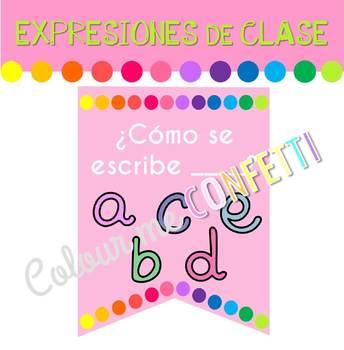 Expresiones de clase Banner - Colour me Confetti