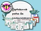 Expresiones para la comunicación escrita u oral: Posters