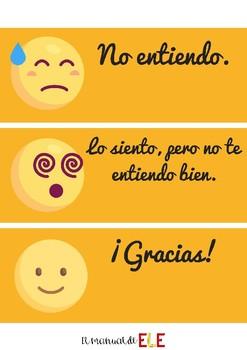 Expresiones útiles en el aula de español