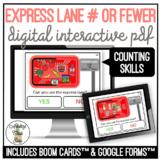 Express Lane # or Fewer Digital Interactive Activity SS