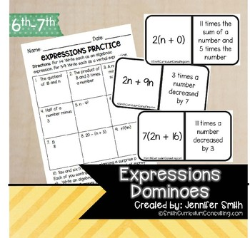 Express Me! A Game of Matching Algebraic Expressions