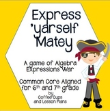 Algebraic Expressions Game: Express 'Yarself with Pirate War