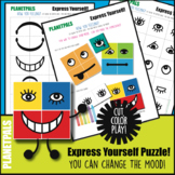 Express Yourself Emotions Activity Cut Color Play Change M