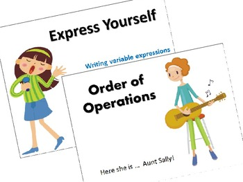 Express Yourself:  Writing Variable Expressions and the Or