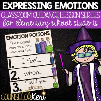 Expressing Emotions Classroom Guidance Lesson for Elementary School Counseling