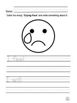 Emoji - Expressing Feelings and Thoughts with Emojis - Free Pages