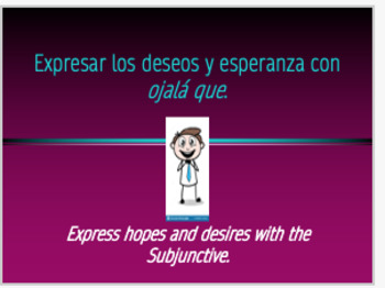 Expressing Hopes/Wants and the Subjunctive