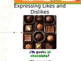 Expressing Likes/Dislikes: using Gustar