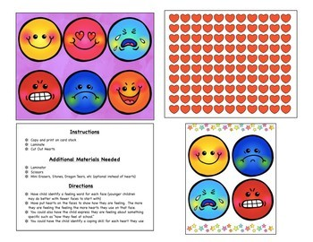 Expressing My Emotions: Interactive Face Mats with Hearts
