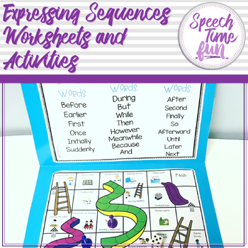 Expressing Sequences Worksheets and Activities