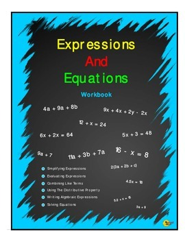Expression And Equations Workbook