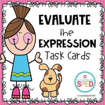 Expression Task Cards