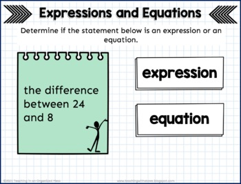Expression and Equation Sort