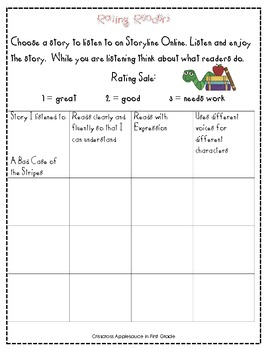 Expression and Fluency Online Activity