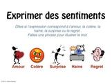 Expression des sentiments - TBI / Smart Board / Power Point