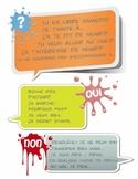 Expression orale: Mon agenda - Speaking task: My planner