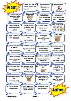 Expression orale : revision  45 hours of French