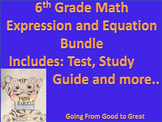 Expression/Equation Test Bundle