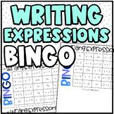 Math BINGO | Writing Expressions