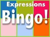 Expressions Bingo