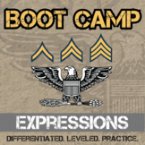 Expressions Boot Camp -- Differentiated Practice Assignments