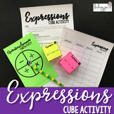 Expressions Cube Activity
