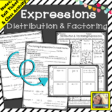 Expressions Distribution and Factoring