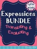 Expressions Doodle Notes Bundle