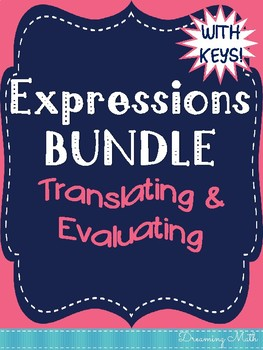 Expressions Doodle Notes Bundle