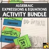 Expressions & Equations Bundle