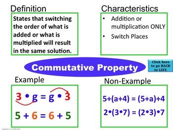 Commutative Definition