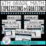 Expressions & Equations Unit Plans (GROWING Bundle)