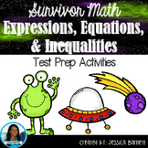 7th Grade Math Test Prep:Expressions, Equations, and Inequalities