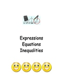 Expressions Equations and Inequalities notes