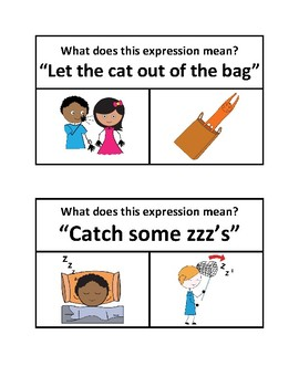 Expressions, Figures of Speech, and Idioms