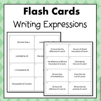 Expressions Flash Cards Bundle