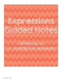 Expressions Guided Notes
