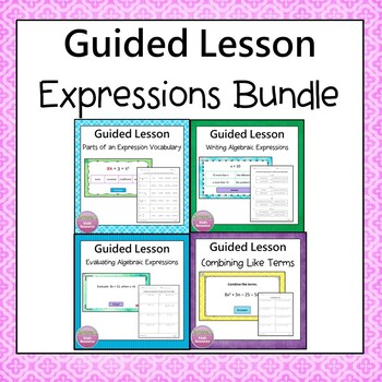 Expressions Guided  Lesson  Bundle
